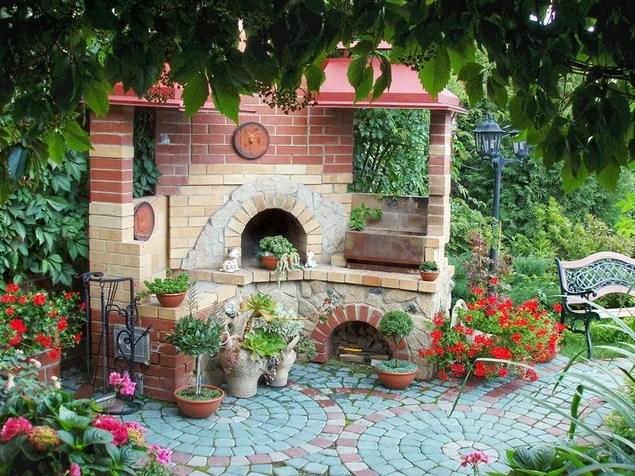 Оформляем свой сад в стиле кантри