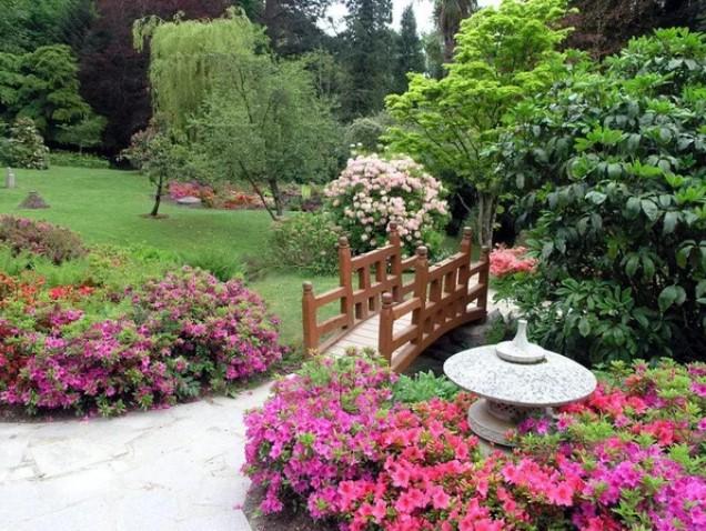 Сад на дачном участке, основные стили