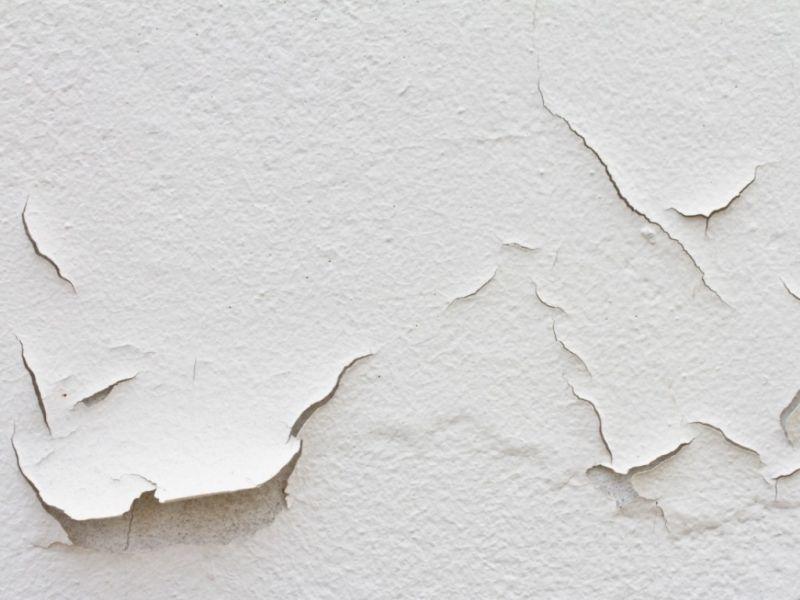 Как избежать шелушения краски на стенах после высыхания?